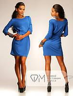 Короткое модное платье