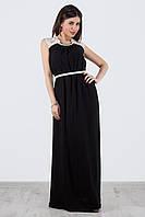 Женское модное платье в пол, цвета в ассортименте