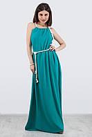 Оригинальное платье-сарафан в пол, цвета в ассортименте