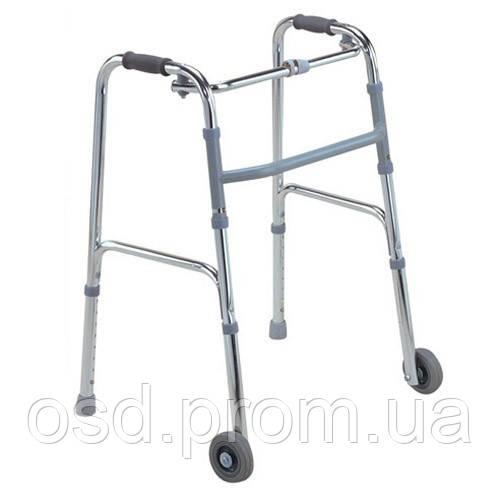 Ходунки для инвалидов Донецк. На колёсах FS 912L