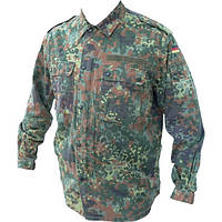 Новый военный камуфляжный китель армии Германии для армии, расцветка Flecktarn