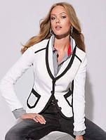 Женский белый пиджак Кант