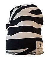 Детская теплая шапка Elodie Details - Zebra Sunshine 2-3 года (подходит на взрослых)