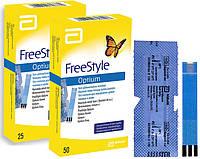 Тест полоски Freesyle Optium 50шт