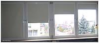 Рулонная штора ( тканевая ролета)Термо 57/170