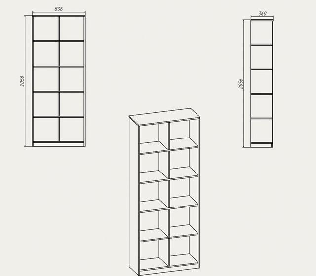 Схема Шкафа «КШ - 2»