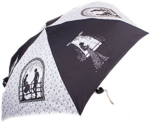 Зонт женский облегченный компактный, механика ZEST (ЗЕСТ) Z55516-8