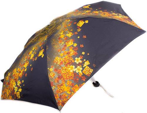 Компактный облегченный женский зонт, механика ZEST (ЗЕСТ) Z55516-4