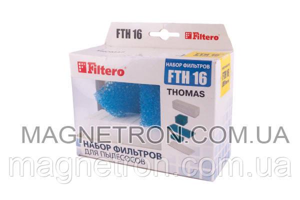 Набор фильтров Filtero FTH 16 для пылесоса Thomas, фото 2