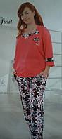 Женская пижама №9424 штаны (ботал)