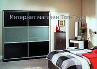 Шкаф купе арт. 0385 темный венге, ширина 2.0м Киев
