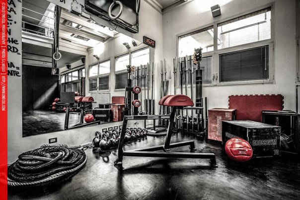 Зал для CrossFit - лучшее что я видел.