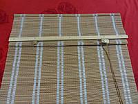 55х140 см. жалюзи бамбук, римские шторы BRM 232