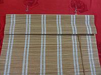 90х140 см. жалюзи бамбук, римские шторы BRM 232