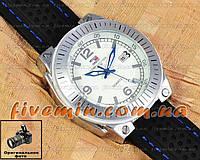 Мужские наручные часы Tommy Hilfiger Quartz Black Silver White под джинсы уличный стиль