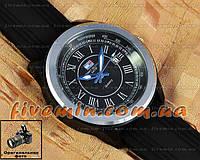 Мужские наручные часы Tommy Hilfiger Quartz Black Silver Blue под джинсы уличный стиль