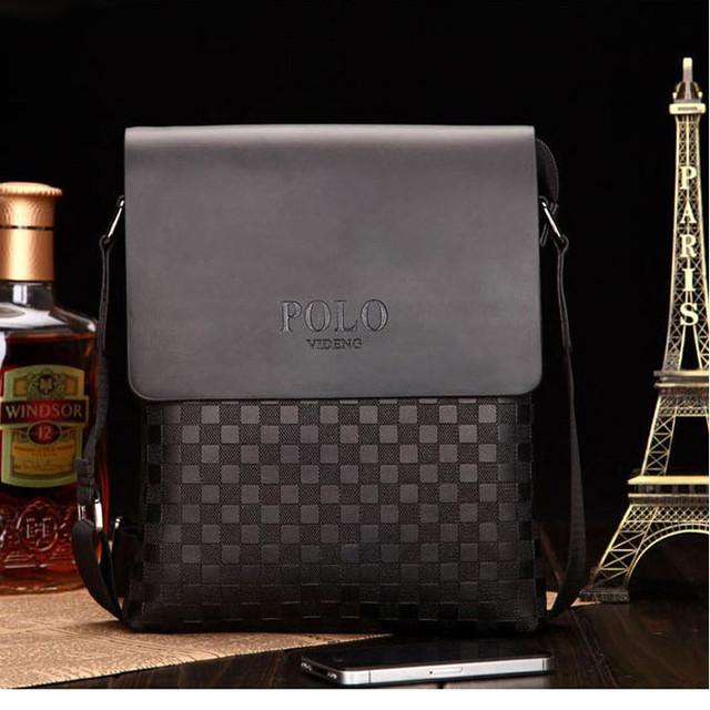 1b7514b3d022 Стильная красивая мужская сумка ПОЛО носится через плечо. Внутри 2 кармана  для мобильных телефонов + карман на змейке. С тыльной стороны отдел на  молнии.