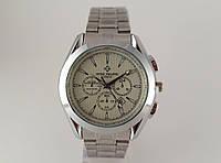 Мужские часы Patek Philippe - стальной браслет, цвет серебристый