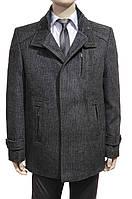 """Мужское зимнее пальто """"West Fashion. Серое"""
