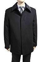 """Мужское зимнее пальто """"West Fashion. Черное"""