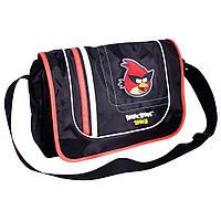 """Сумка через плечо горизонтальная """"Angry Birds Space"""" для мальчика 5-8 класс AB03851"""