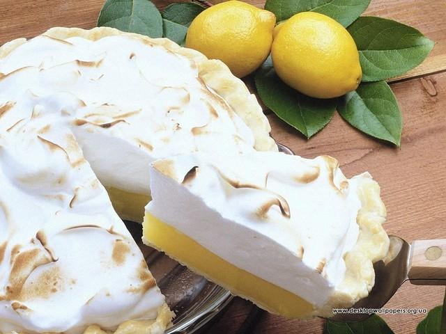 Лимонное безе рецепт с фото