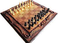 Нарды + Шахматы резные ручной работы