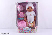 Кукла (мальчик) Warm Baby и аксессуары 9005 с волшебным горшочком , фото 1