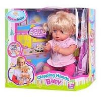Интерактивная кукла RT 05066 (хлопает в ладошки, поет песенку)