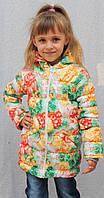 Пальто для девочки демисезонное, фото 1