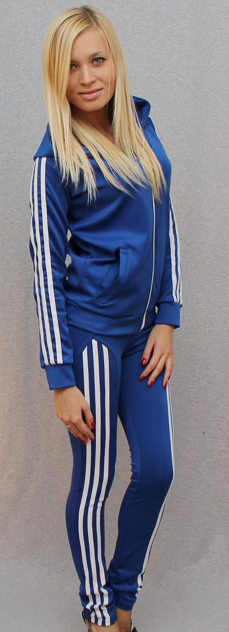 Спортивный костюм синий женский доставка