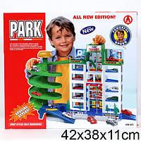 Гараж паркинг со скоростным спуском: 6 уровней, 4 машинки + лифт