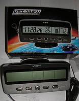 Автомобильные часы,термометр, вольтметр 7045 и 7045V