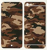 Виниловая наклейка для iPhone 5/5s Камуфляж
