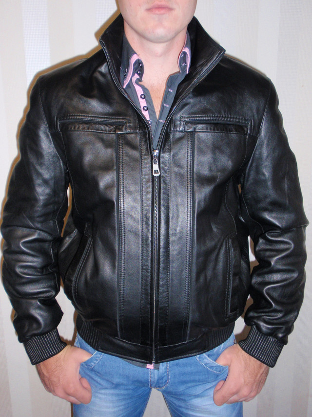 Купить Мужскую Кожаную Куртку
