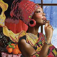 Схема для вышивки бисером Африканские мотивы