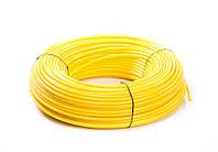 """Шланг, желтый, эластичный, полиэтиленовый 3/8"""", A4-E2006Y"""