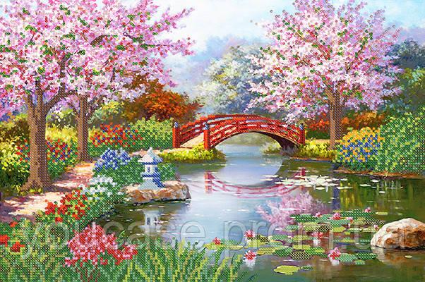 Японский сад схема на атласе