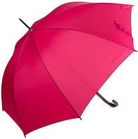 Оригинальный, женский зонт-трость, полуавтомат ESPRIT (ЭСПРИТ) U50701-red