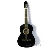 Гитара классическая c металлическими струнами  Bandes CG 851 BK 39''