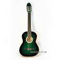 Гитара классическая c металлическими струнами  Bandes CG 851 GLS 39''