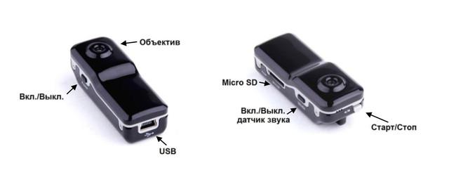мини камера мд-80 инструкция