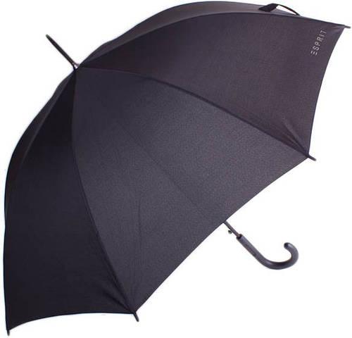 Оригинальный, мужской зонт-трость, полуавтомат ESPRIT (ЭСПРИТ) U50701-black
