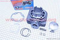 Цилиндр , поршень, палец, кольца на скутер Suzuki