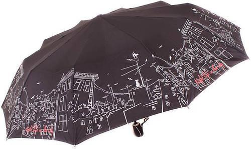 Зонт яркий, оригинальный, полный автомат ZEST Z239666-47 Антиветер