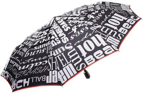 Женский зонт яркий, оригинальный, полный автомат ZEST Z239666-8068 Антиветер