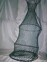 Садок рыболовный ручная работа 4кольца 1,7м