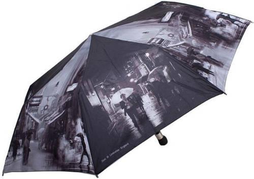 Оригинальный, красочный, женский зонт, полуавтоматический ZEST Z23625-19 Антиветер!