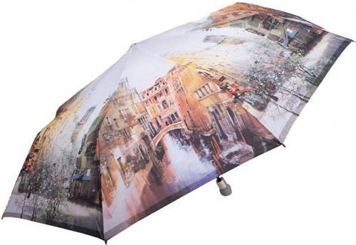 Красочный, женский зонт, полуавтоматический ZEST Z23625-21 Антиветер!