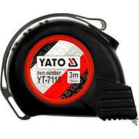 Рулетка строительная (измерительная) 16мм х 3м YATO YT-7110